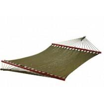 Caribbean Hand woven hammock with Round spreader bar