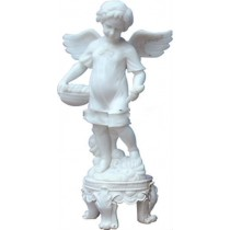 Carving Sculpture of Child Angel