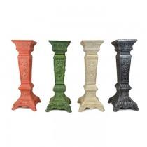 Cast Aluminium Garden Sundial Column