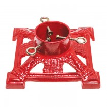 Cast Iron Red Christmas Tree Stand