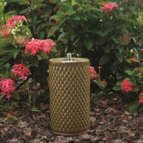 Ceramic Garden Torch 13 Inch Height