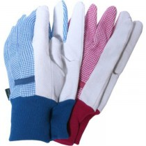 Checks Design Ladies Garden Gloves