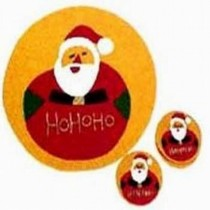Christmas Costar Santa Claus Set of 6 Pcs