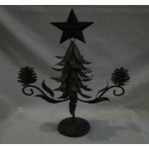 Christmas Star &  Tree shaped Candle Holder