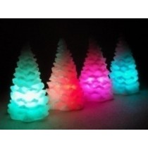Christmas Tree Candles (size-3 x 4 inch)