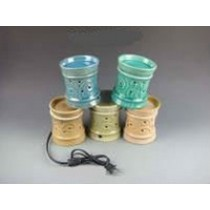 Circular Decorative Ceramic Electric Wax Warmer Oil Burner(Set Of 5)