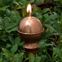Classic Antique Copper Garden Torch