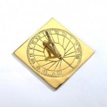 Classic Brass Polished Garden Sundial