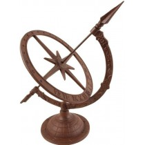 Classic Design Cast Iron Sun Bowl Sundial