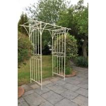 Classic Design Cream Finish Garden Arch