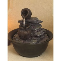 Classic Design Rustic Finish Stone Water Fountain