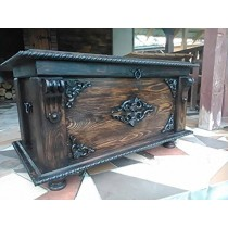 Classic Handmade Wooden Storage Trunk