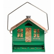 Classic Home Style Metal Hanging Bird Feeder