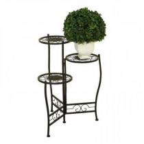 Classic Scroll Style Iron Plant Stand