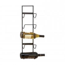 Classic Wall Mounted 5 Bottle Wine Rack