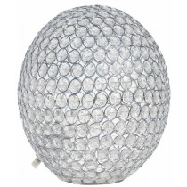 Clear Cristal  Beads Ball Table Lamp