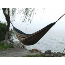 Coffee Color Double Parachute Hammock