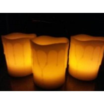 Color changing  Led Candle(3 X 3 Inch)