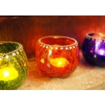 Colorful Votive Candle Holders