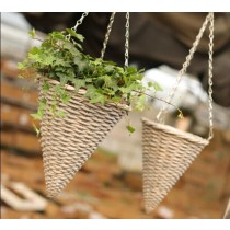 Cone Hanging Baskets - 1
