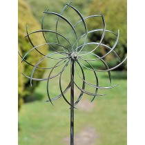 Cooper Finish Flower Design Garden Weathervanes