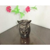 Copper Finish Ceramic Decorative Shape Oil Burner