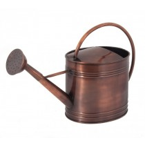 Copper Finish Galvanized Steel Watering Can