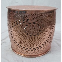 Copper Finish Stool