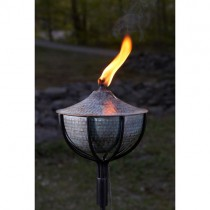 Copper Large Garden Torch Set of 4 Pcs