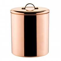 Copper Plated Cylinder Shape Ice Bucket