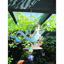 Crafted Mermaid Design Hanging Weathervanes
