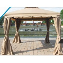 Cream Decorative Outdoor Garden Gazebo