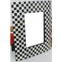 Cross Checks Photo Frame