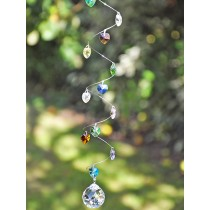 Crystal Heart Hanging Sun Catchers