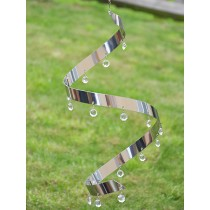 Crystal Ribbon Hanging Sun Catcher
