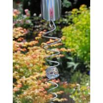 Crystal Spiral Hanging Garden Weathervanes