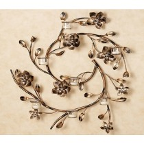 Curled Tree Wall Candle Holder