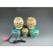 Cutout Vase Style Ceramic Electric Wax Warmer Oil Burner(Set Of 5)