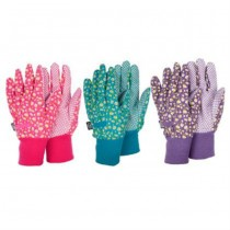 Daisy Floral Design Garden Gloves
