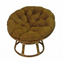 Dark Brown 48 Inch Papasan Lounge Chair Cushion