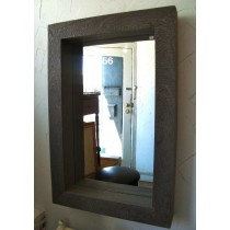 Dark Natural  Mango Wooden Thicker Mirror Frame
