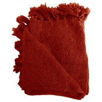 Dark Orange 50 X 70 Inch Throw
