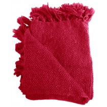 Dark Pink 50 X 70 Inch Throw