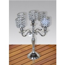 Dazzling 5 Arm Candle Holder