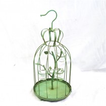 Decorative Antique Bird Cage Candle Holder