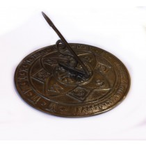 Decorative Antique Brass Finish Garden Sundial
