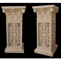 Decorative Beautiful Unique Design Pair Of Pedestal