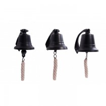 Decorative Black Wall Mounted Hanging Bell