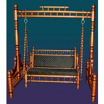 Decorative Brass Color Garden Swing