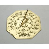 Decorative Brass Navigator Sundial